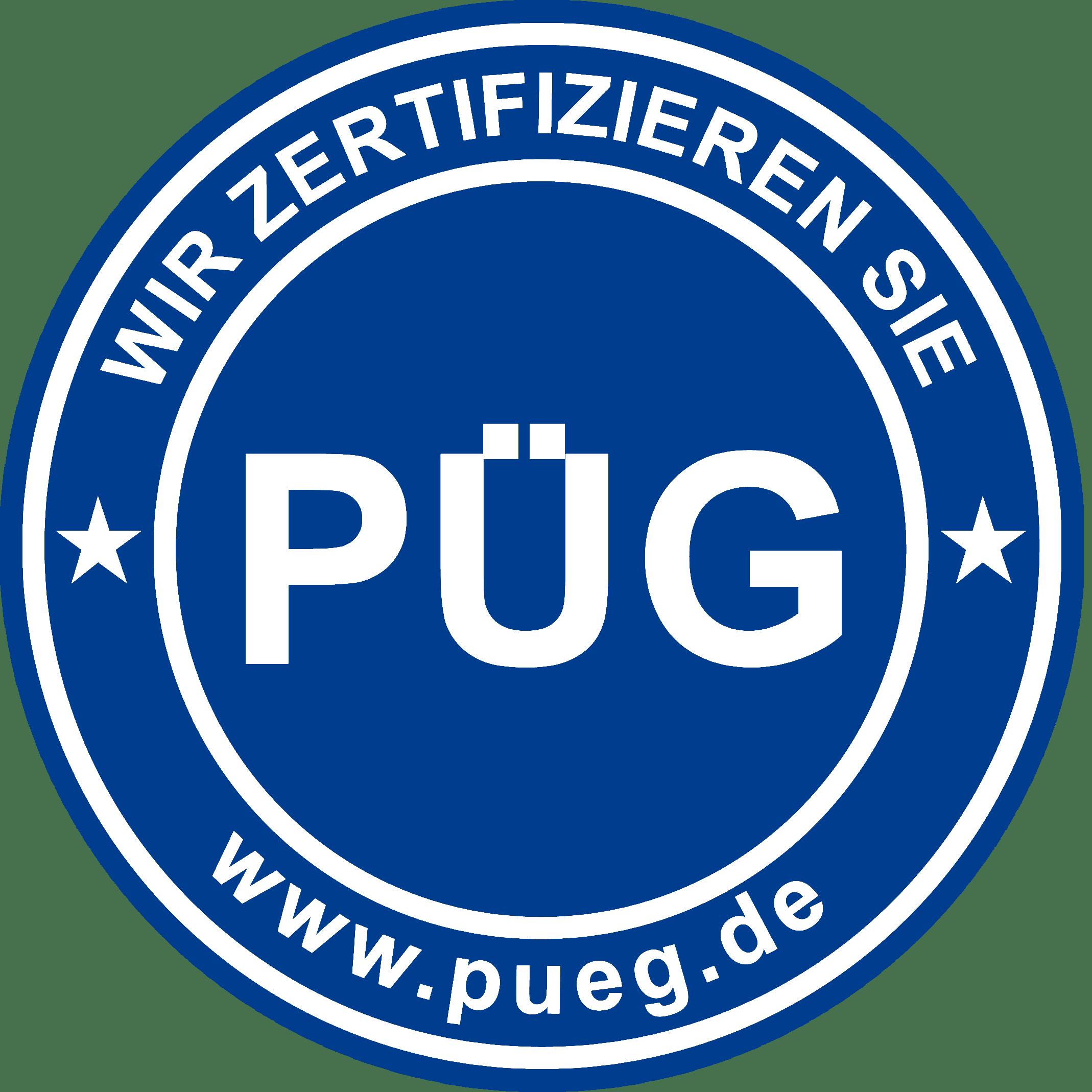 PÜG Zertifikat